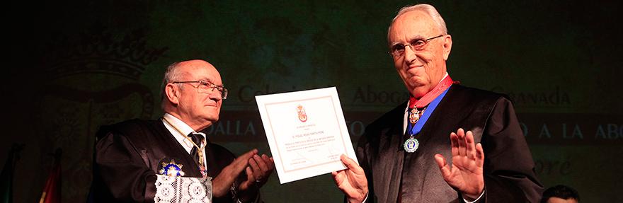 Medalla al Mérito en el Servicio a la Abogacía